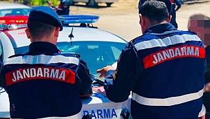 Jandarma 'nın dikkati gaspı engelledi