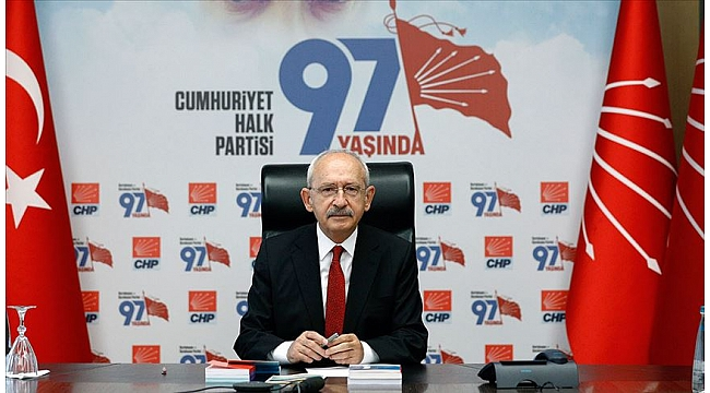 Kılıçdaroğl'dan , 29 Ekim Cumhuriyet Bayram
