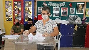 KKTC cumhurbaşkanlığı seçimi için sandık başında
