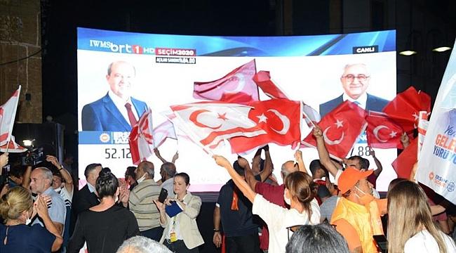 KKTC'de Tatar cumhurbaşkanı seçildi