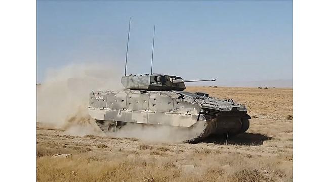 Türkiye'nin yeni zırhlısı Tulpar göreve hazır