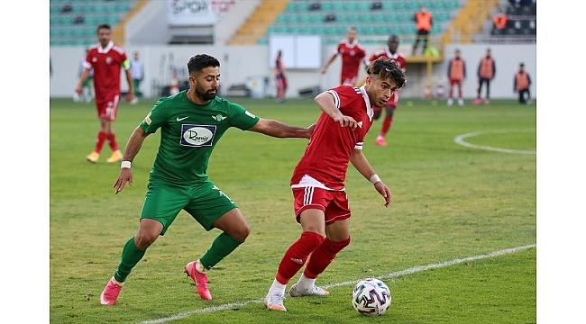 Akhisarspor kendi evinde mağlup 0-1