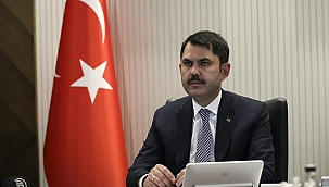 Bakan Kurum, İTB Meclis Toplantısı'na video konferansla katıldı