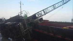 Fabrikada vincin çarptığı 2 işçiden biri hayatını kaybetti