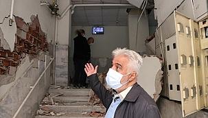 İzmir'de hasar tespit çalışmaları sürüyor