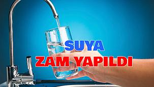 İzmir'de suya yüzde 15 zam yapıldı