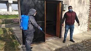 Salihli Belediyesi Muhtarlık Binalarını İlaçladı