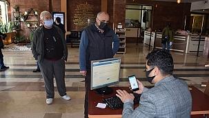 Salihli Belediyesi'nde HES kodu uygulaması başladı