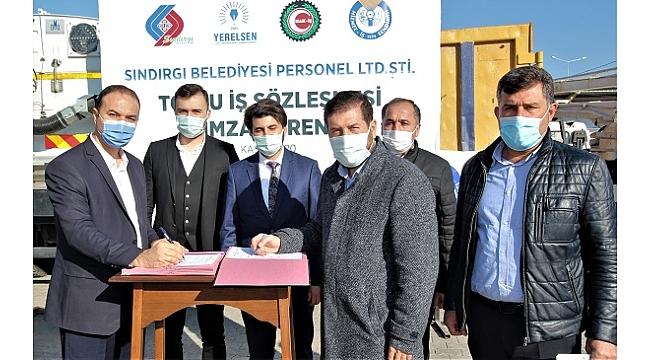 Sındırgı Belediye personeline toplu sözleşme müjdesi