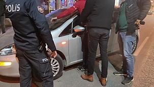 Alaşehir'de hırsızlık şüphelisi, uyuşturucu ile yakalandı