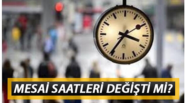 İzmir ve Denizli'de mesai saatlerine Kovid-19 düzenlemesi