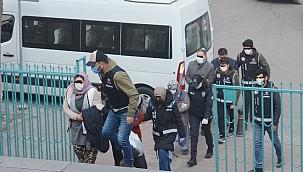 Kütahya'da tefecilik iddiasıyla 8 şüpheli yakalandı