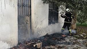 Muğla'da evde çıkan yangın hasara yol açtı