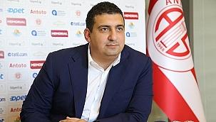 Antalyaspor Başkanı Ali Şafak Öztürk istifa etti