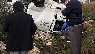 Didim'de trafik kazası 1 kişi öldü