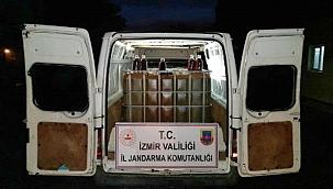 Jandarma baskınında 22 bin litre kaçak akaryakıt ele geçirildi