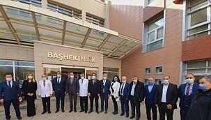MHP İzmir Milletvekili Osmanağaoğlu, Tire'yi ziyaret etti