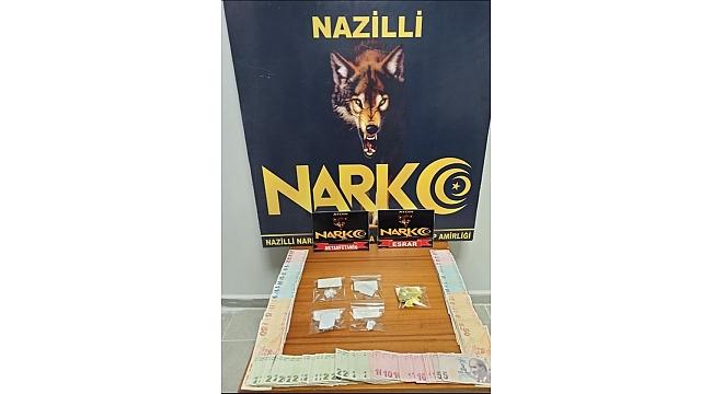 Nazilli'deki uyuşturucu operasyonunda 1 kişi tutuklandı