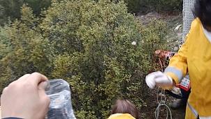 Ormanlık alanda baygın bulunan kişi hayatını kaybetti