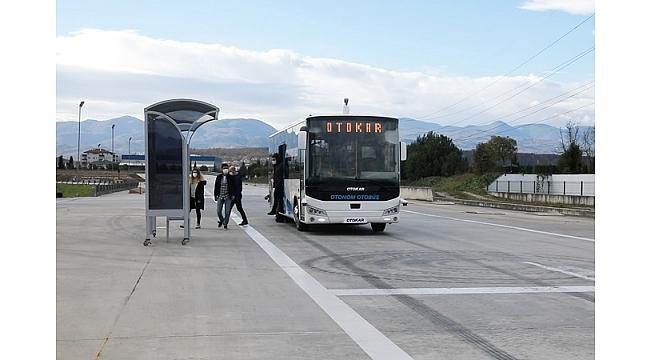 Sürücüsüz otobüsü testleri başarıyla geçti