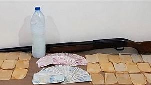 Uyuşturucu imal edip sattığı belirlenen şüpheli tutuklandı