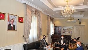 AA Antalya Bölge Müdürü Yıldırım'ın ziyaret maratonu