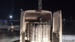 Afyonkarahisar'da 30 ton kaçak akaryakıt ele geçirildi