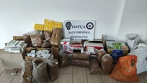 Datça'da kaçakçılık operasyonu