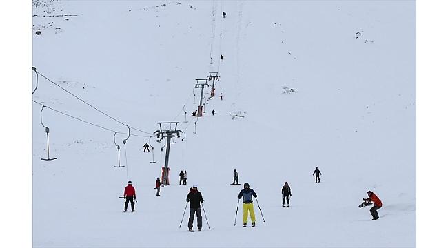 Denizli Kayak Merkezinde sezon açıldı
