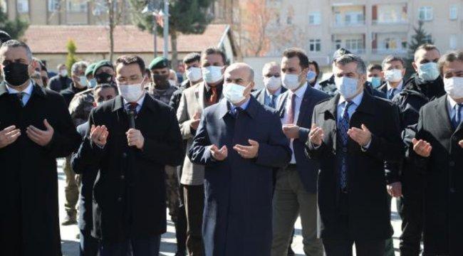 Gara şehidi polis Vedat Kaya için memleketinde dua edilip, lokma dağıtıldı