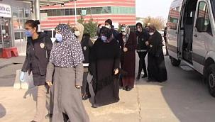Terör örgütü propagandası iddiasıyla gözaltına alınan 5 kadın serbest bırakıldı