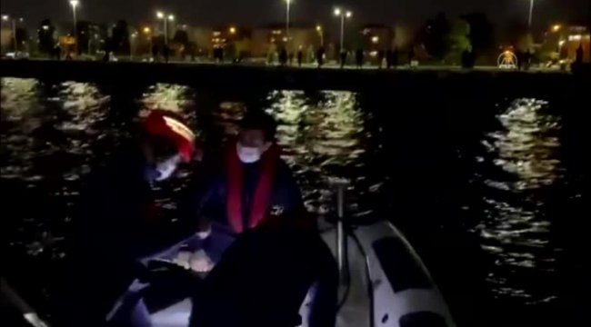 Yaralı pelikanı Sahil Güvenlik ekipleri kurtardı