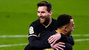 Barcelona Sociedad'a 6 gol attı