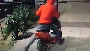Elektrikli bisiklet hırsızlığı kamerada