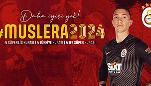 Fernando Muslera Galatasaray'la sözleşmesini uzattı