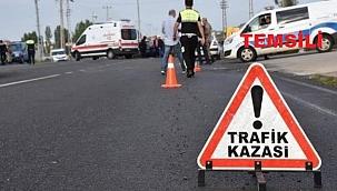 İzmir'de otomobilin çarptığı motosikletin sürücüsü öldü
