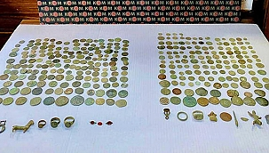 Roma dönemine ait tarihi eserleri İstanbul'a götürüp, satmak isterken yakalandı