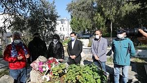 Saynur Gelendost, Bodrum'da mezarı başında anıldı