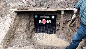 Toprağın altına gömülü tarihi eserler ele geçirildi