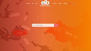 EİB sitesiTürkçe, İngilizce ve Çince hizmet veriyor