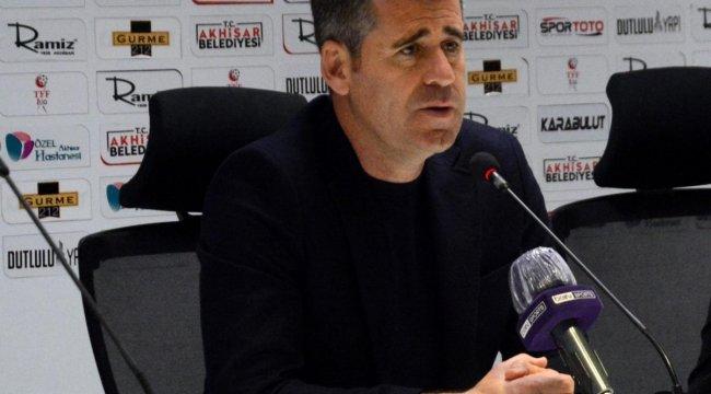 Hüseyin Eroğlu: 'Kazanmak istediğimiz bir maçtan beraberlikle ayrıldık'