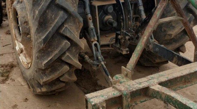 Izgara ile traktör arasına sıkışan çiftçi öldü