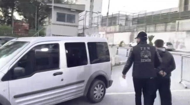 İzmir'de DEAŞ operasyonunda gözaltına alınan 3 şüpheli serbest
