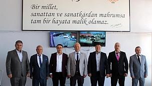 Salihli Sanayi Sitesi Kooperatifinde başkan değişmedi