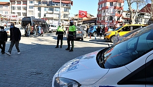 Simav'da 68 araç trafikten men edildi