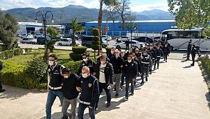 Tefecilik iddiası ile gözaltına alınan 16 kişi adli kontrol şartıyla serbest bırakıldı