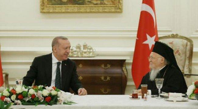 Azınlık cemaatleri temsilcilerinden Cumhurbaşkanı Erdoğan'a teşekkür