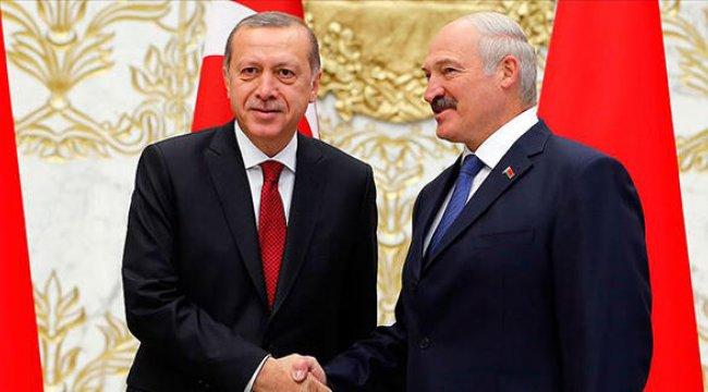 Cumhurbaşkanı Erdoğan, Lukaşenko ile görüştü