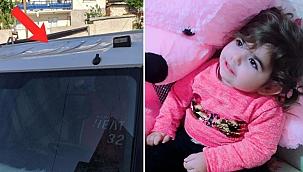 Dördüncü kattan kamyonetin kasasına düşen 3 yaşındaki Miray feci şekilde can verdi