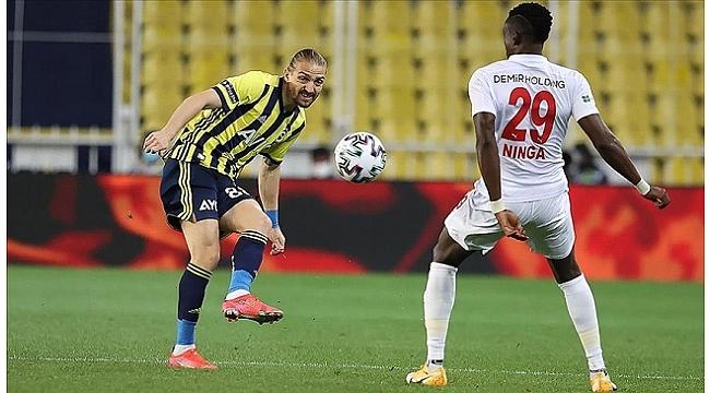 Fenerbahçe ayağına gelen kısmeti tepti